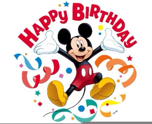 Disney Clipart Birthday Baby Mickey Mouse Party.