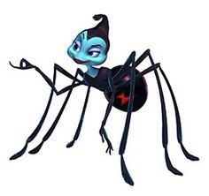Princess Atta from A Bugs Life.