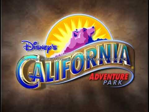 Disney\'s California Adventure Teaser Promo Intro/Logo (2000.