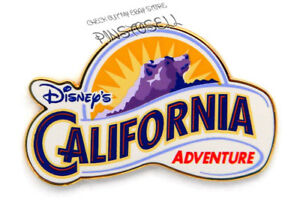 Details about DISNEY\'S CALIFORNIA ADVENTURE Logo DISNEY PIN w/ Grizzly Peak.