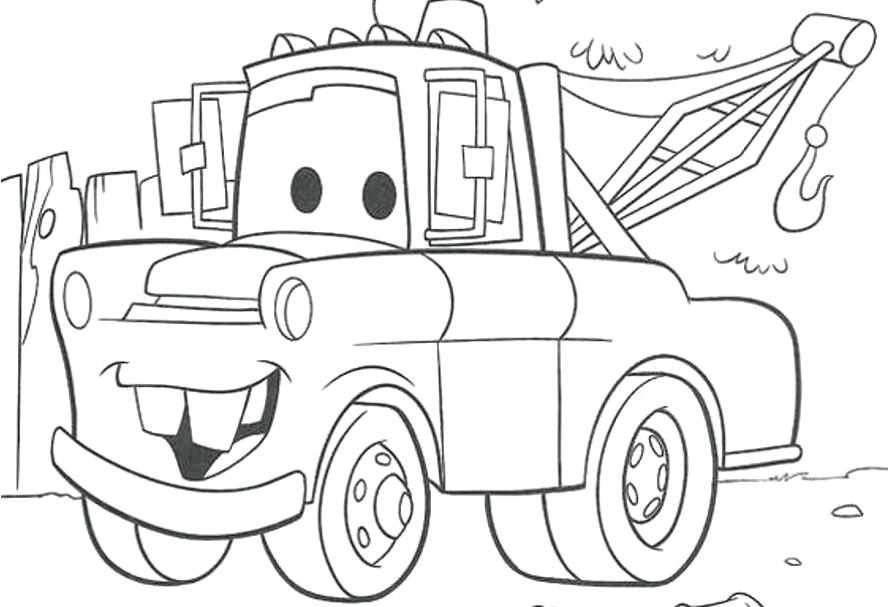 Coloring Pages Disney Cars.