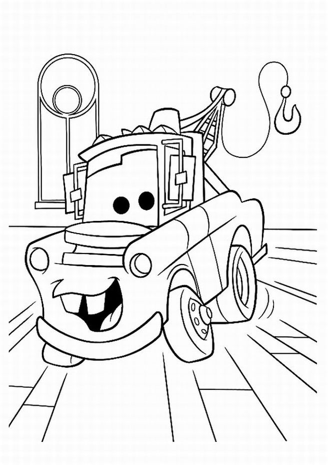 Free Disney Cars Clipart Black And White, Download Free Clip.