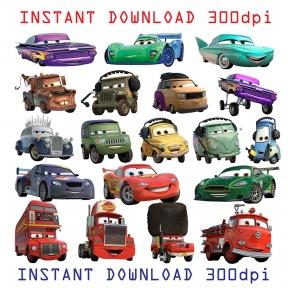 Disney Cars Desert Clipart.