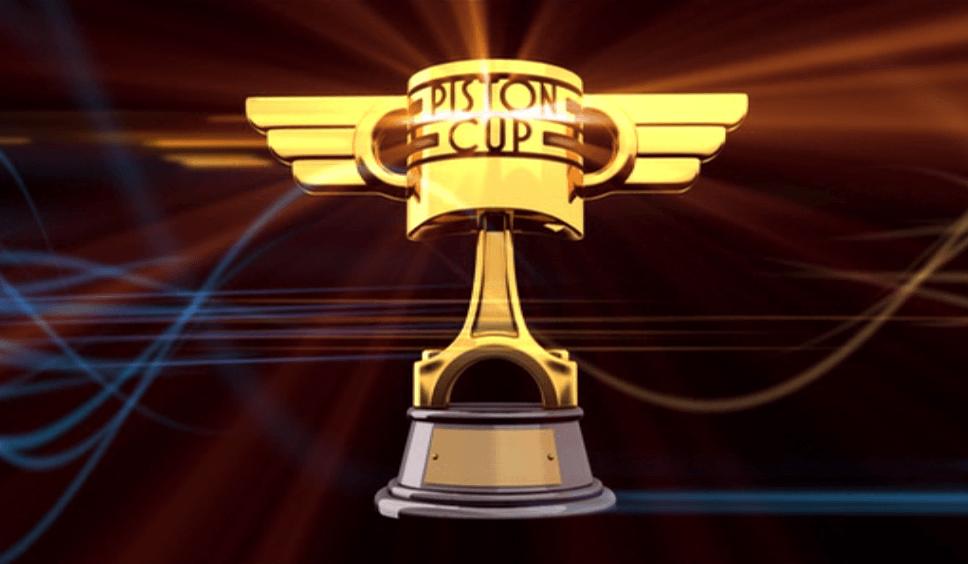 Disney Cars Piston Cup Logo.