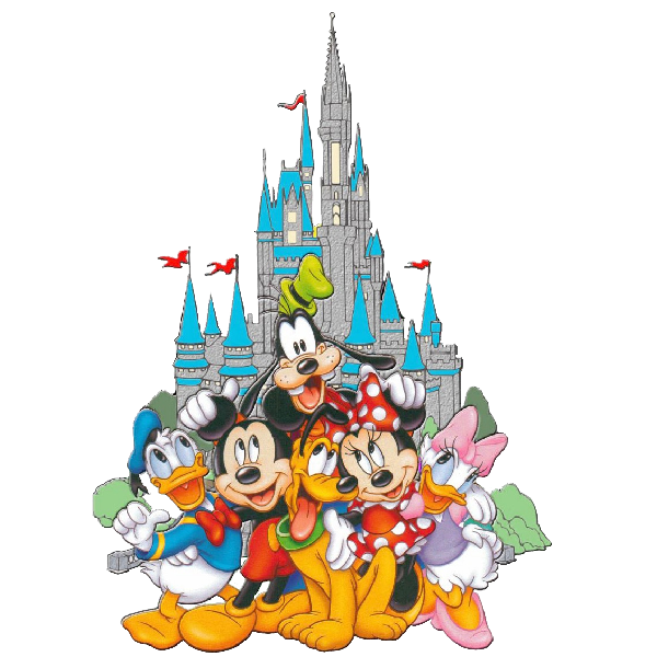 Disney Mickey Mouse and Friends Clipart.