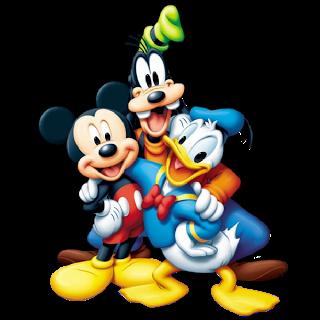 Disney cartoon characters clipart.