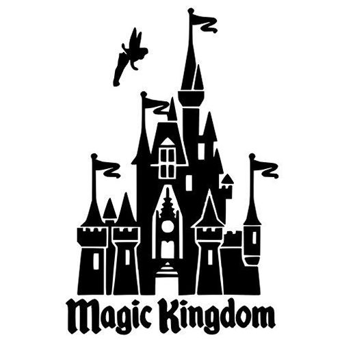 17 Best ideas about Disney Castle Silhouette on Pinterest.