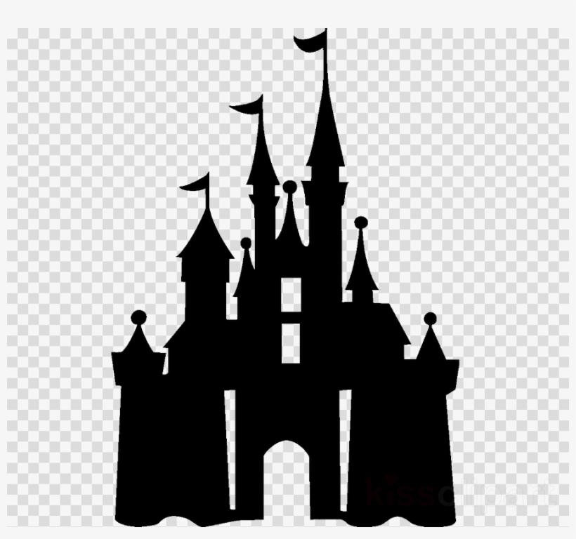 Disney Castle Silhouette Transparent & Free Disney Castle.