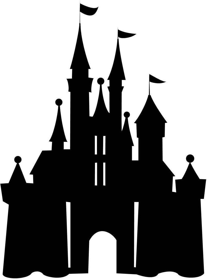 Disney castle logo clipart library.