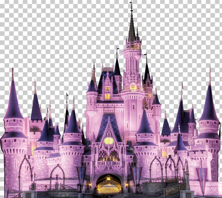Walt Disney World The Walt Disney Company Amusement Park Castle PNG.