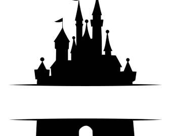 Disney Castle Silhouettes.