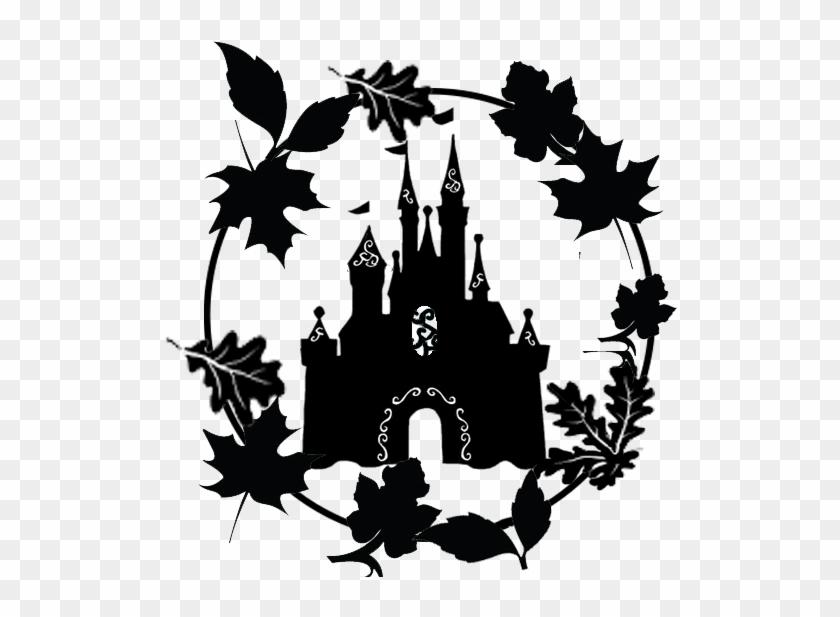 Disney Castle Silhouette Transparent.