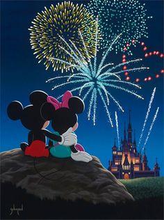 Disney castle clipart fireworks.