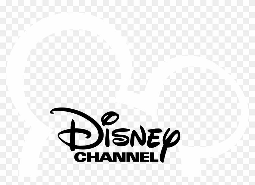 Disney Channel Logo Black And White.