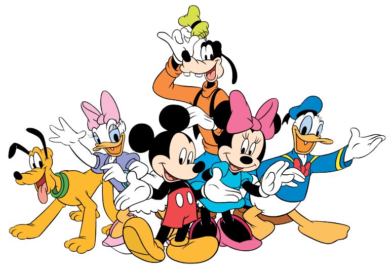 Mickey Mouse Gang Clipart.