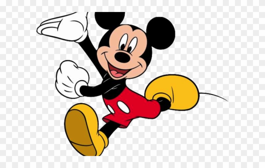Mickey Mouse Clipart Transparent Background.