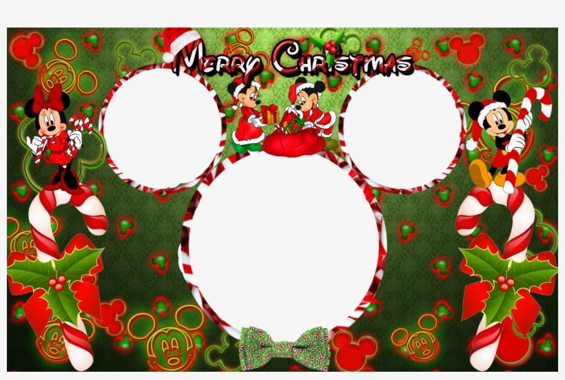 Free Disney Christmas Border Clipart.