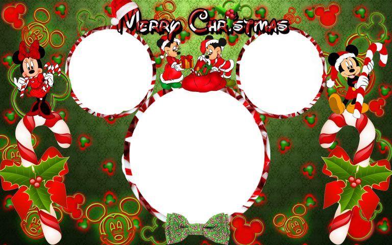 Christmas Disney Frames Photos..