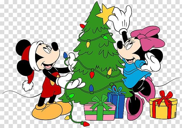 Mickey Mouse Minnie Mouse Pluto Christmas , Disney Tree.