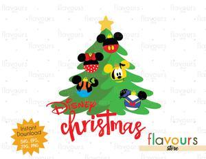 Disney Christmas Tree.