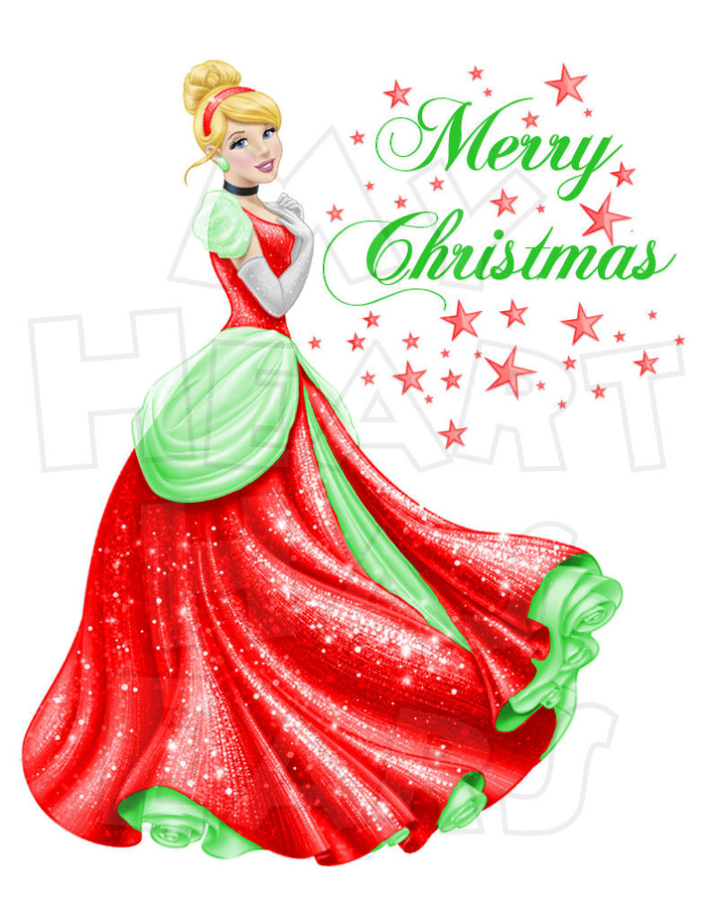 disney cinderella christmas clipart - Clipground