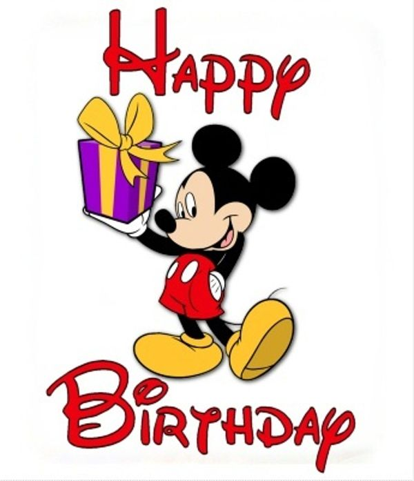 Disney Clipart Birthday.