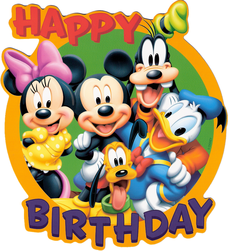 Free disney birthday clipart.