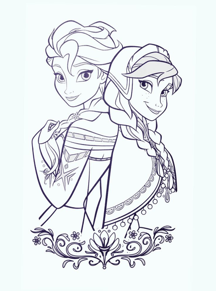 Disney Princess Clipart Black And White.