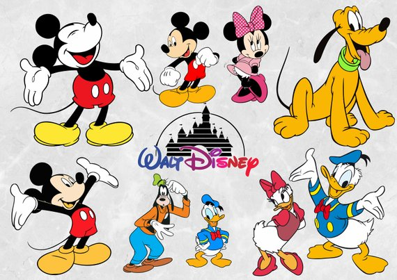Disney Characters Vector at GetDrawings.com.