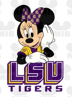 disney lsu mickey head graphic ..