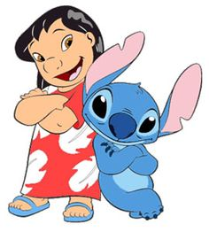 Free Disney's Lilo and Stitch Clipart and Disney Animated Gifs.