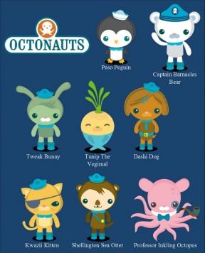 Octonauts.
