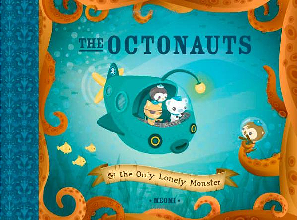 "Media Darlings: TV Series We Love: ""The Octonauts"" on Disney Junior."
