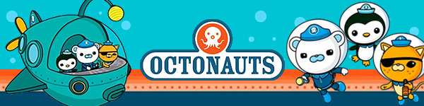 Octonauts Bandaid Favor Stickers Treat Bag Stickers by TootnBoo.