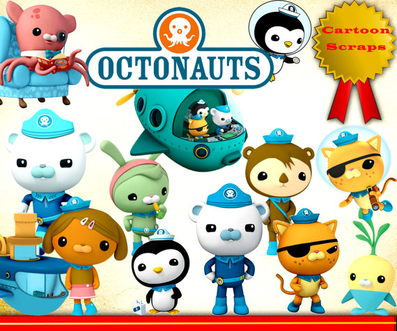 46 Octonauts Clipart PNG Disney Digital Graphic Image Octonauts.