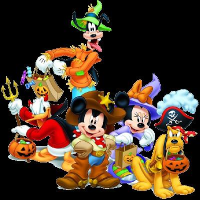 Disney Halloween Characters.