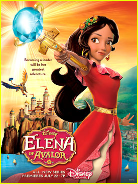 Disney Channel Sets 'Elena of Avalor' Premiere in July.