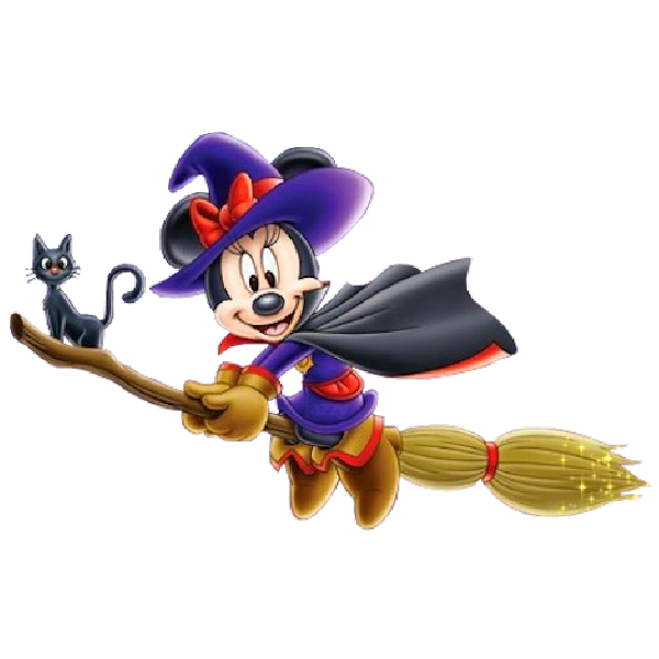 Minnie Mouse Halloween Disney Clipart Images Are On A.
