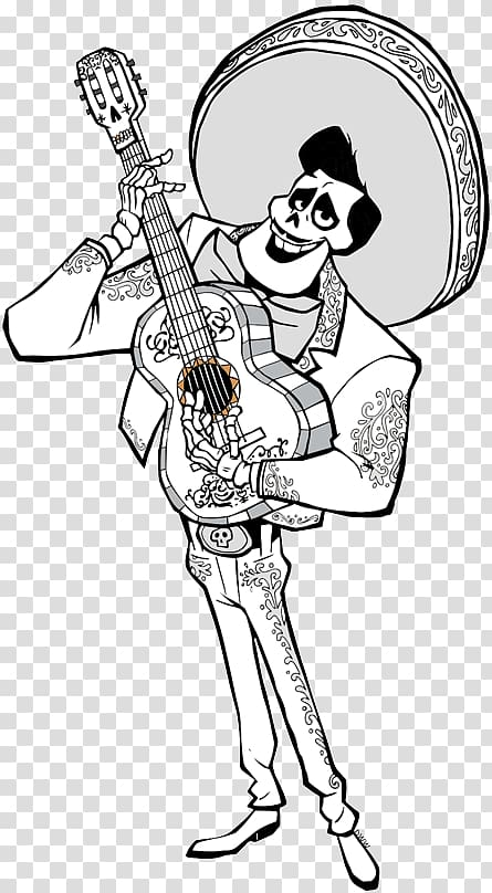 Disney Coco Ernesto de la Cruz illustration, Ernesto de la.