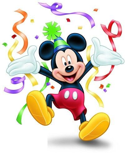Mickey Mouse Congratulations Clipart.