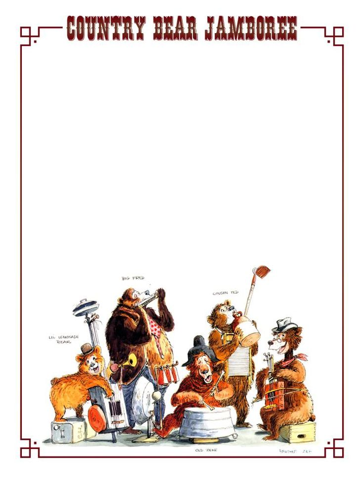 17 Best images about Country Bear Jamboree on Pinterest.