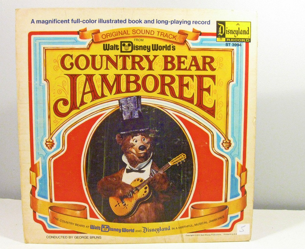 Disney Country Bear Jamboree Clipart.