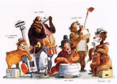 Showing post & media for Disney country bear jamboree cartoon.
