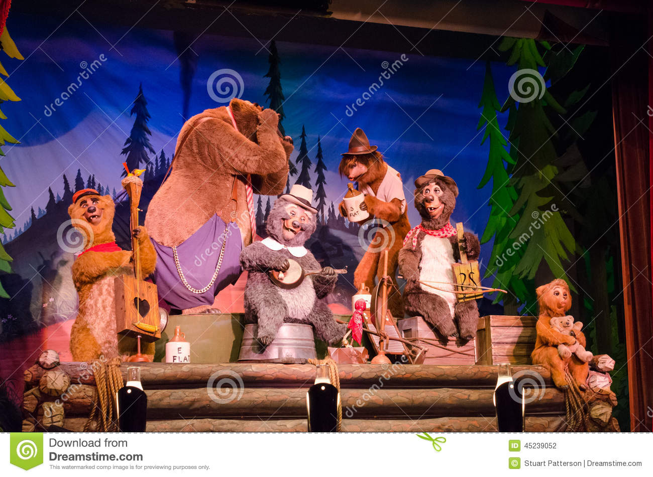 Disney Country Bear Jamberee Clipart.