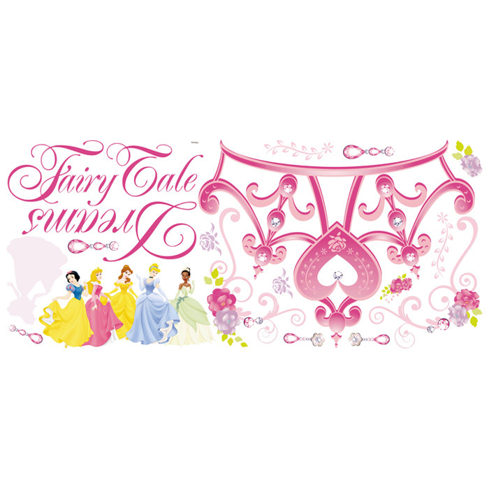 Room Mates Deco Disney Princess Crown Giant Wall Decal & Reviews.