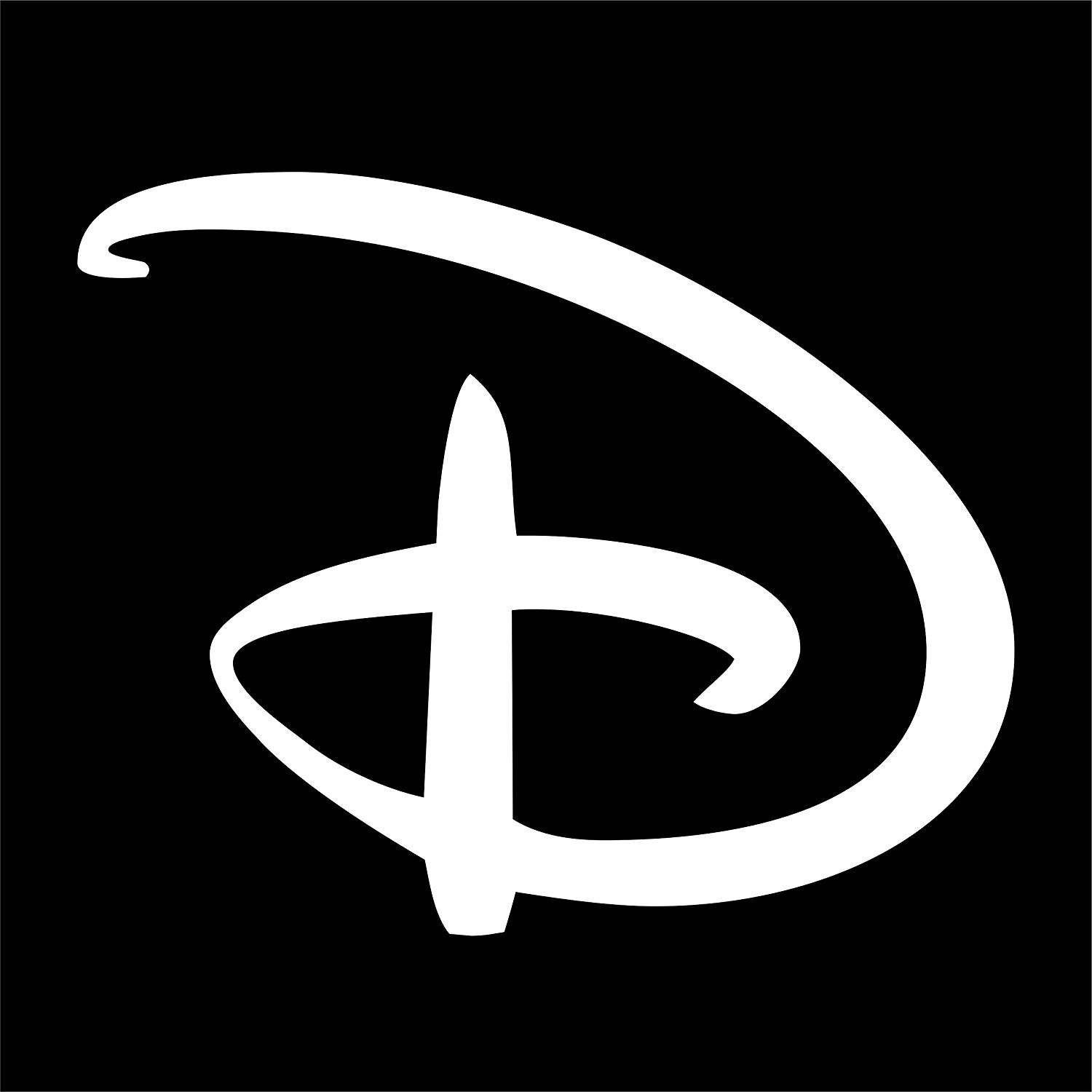 Cove Signs Disney \'D\' Decal/Sticker.