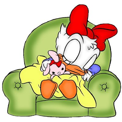 Donald And Daisy Together Clipart Transparent Background.