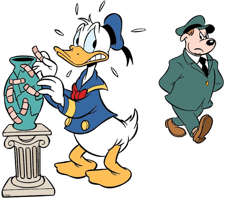 Donald Duck Clip Art.