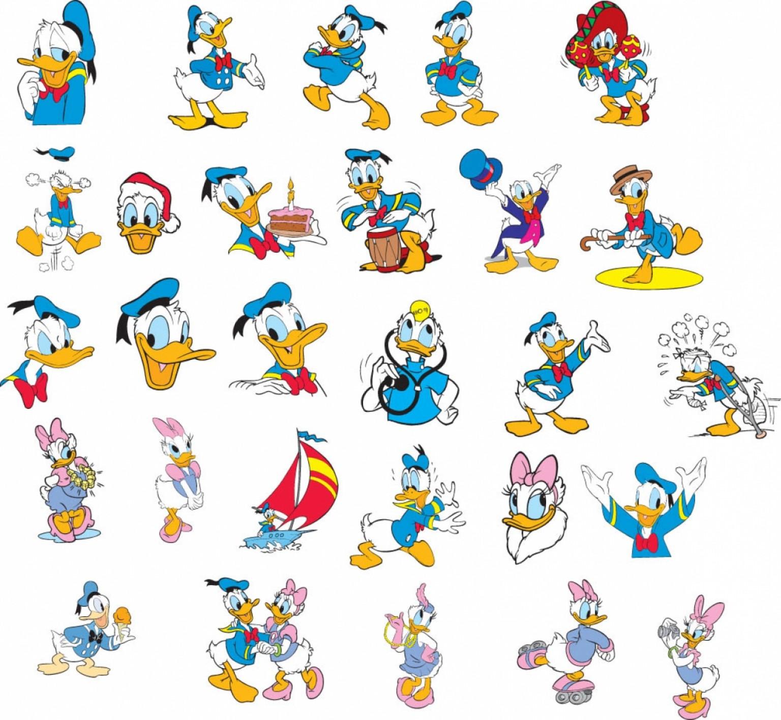 disney donald duck egg clipart #10