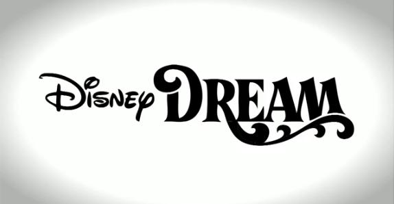 disney dream logo svg.